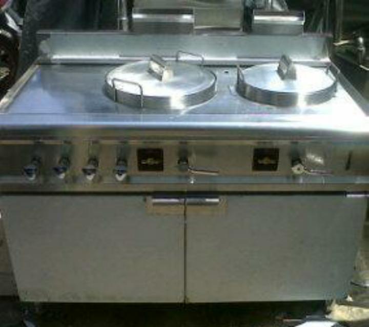 Peralatan Dapur Restoran Gas Noodle Boiler With Soup 1 23